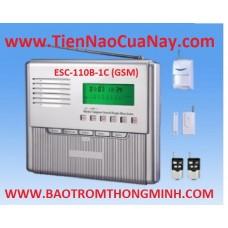 BÁO TRỘM CÓ DÂY VÀ KHÔNG DÂY ESCORT ESC-110B-1C (GSM)